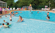 A view of the pool at Quay West Holiday Park - Mid Wales - Run by Haven