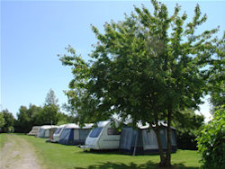 A view of the lovely Acorn Camping & Caravan Park located in South Wales